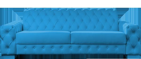 Leder Sofa polstern